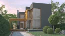 Casas de estilo minimalista por Studio of Architecture and Design 'St.art'