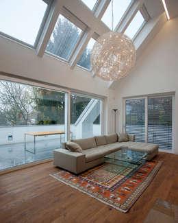 schröckenfuchs∞architektur: eklektik tarz tarz Oturma Odası