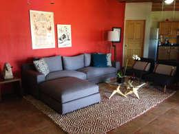 TocoMadera: modern tarz Oturma Odası