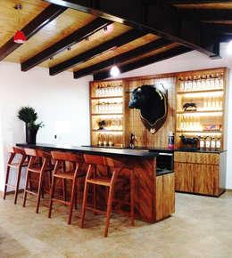 Rancho El Colomo // 2014.: Terrazas de estilo  por TocoMadera