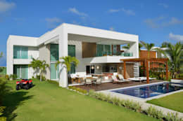 modern Houses by Pinheiro Martinez Arquitetura