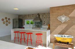 Tерраса в . Автор – Pinheiro Martinez Arquitetura