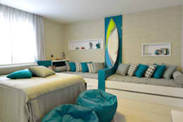 modern Bedroom by Pinheiro Martinez Arquitetura