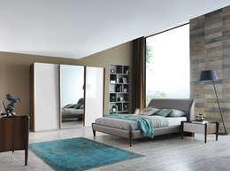 Projekty,  Sypialnia zaprojektowane przez NILL'S FURNITURE DESIGN