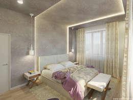 Спальня: Спальни в . Автор – A&D-interior