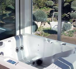 Studio jardin: Salle de bain de style de style Moderne par .oboo-outdoor
