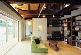 小栗建築設計室의  거실