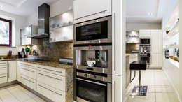 DOM JEDNORODZINNY - SOPOT: styl , w kategorii Kuchnia zaprojektowany przez Anna Serafin Architektura Wnętrz