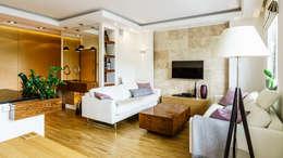 modern Living room by Anna Serafin Architektura Wnętrz