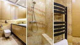 modern Bathroom by Anna Serafin Architektura Wnętrz