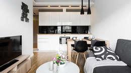 Столовые комнаты в . Автор – Anna Serafin Architektura Wnętrz