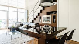 Livings de estilo moderno por Anna Serafin Architektura Wnętrz