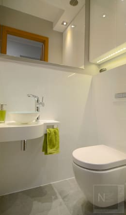 metamorfoza wc: styl , w kategorii Łazienka zaprojektowany przez Interno Natalia Margraf-Wojciechowska