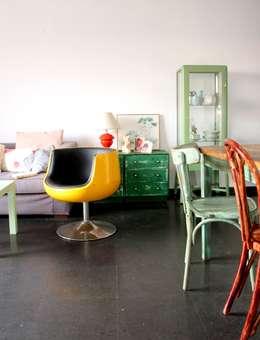 Salas de estilo ecléctico por decoraCCion