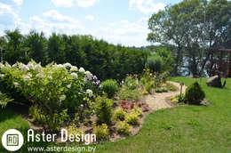 Ландшафтный дизайн в д. Кучки: Сады в . Автор – Aster Garden