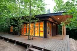 Maisons de style de style Moderne par 吉田建築設計事務所