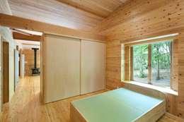 Медиа комнаты в . Автор – 吉田建築設計事務所