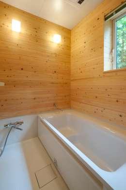 Ванные комнаты в . Автор – 吉田建築設計事務所