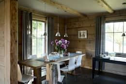 country Dining room by deco chata
