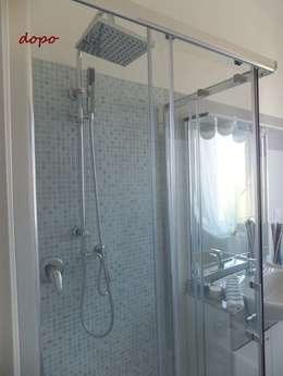 New look per un appartamento di 70 mq a Terni: Bagno in stile in stile Moderno di EFFEtto Home Staging