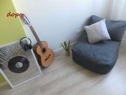 غرفة نوم تنفيذ EFFEtto Home Staging