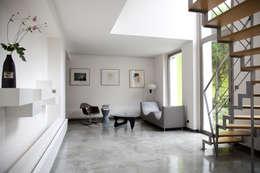 moderne Woonkamer door MELANIE LALLEMAND ARCHITECTURES