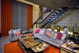Projekty,  Salon zaprojektowane przez Studium Saut Arte & Interiores