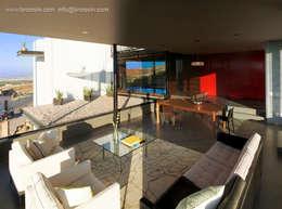 Sala: Salas de estilo moderno por BROISSIN