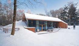 Projekty, nowoczesne Domy zaprojektowane przez KRFT