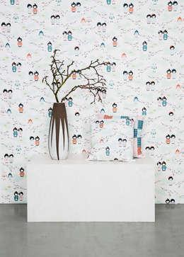 Walls & flooring by BY MAY/ Siluett Frost Window Film