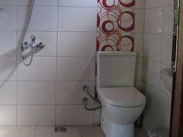 浴室 by Cıralı Beach Bungalows