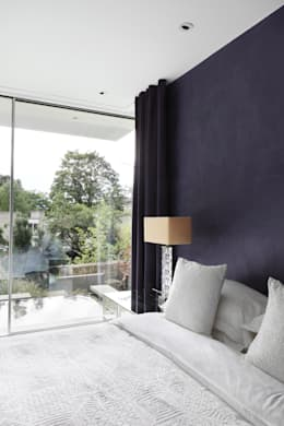 modern Bedroom by E2 Architecture + Interiors