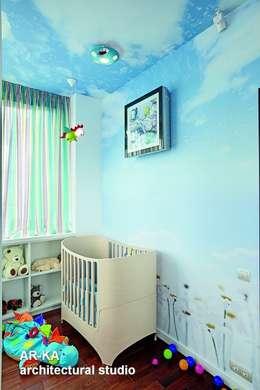 AR-KA architectural studio: modern tarz Çocuk Odası