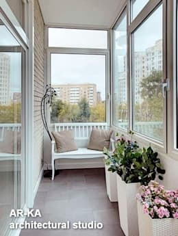 Terraços  por AR-KA architectural studio