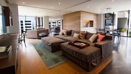 Departamento CL: Estudios y oficinas de estilo moderno por Concepto Taller de Arquitectura