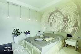 Модернизм в исторической среде: Спальни в . Автор – AR-KA architectural studio