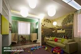 Dormitorios infantiles de estilo moderno por AR-KA architectural studio