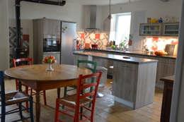 Aménagement Longère : Cuisine de style de style Moderne par Frédéric  Poisson Architecture&Design
