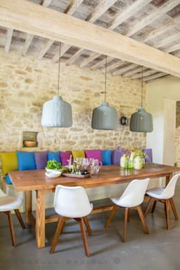 rustic Dining room by Marcello Gavioli