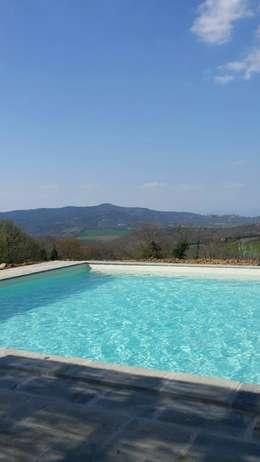 rustiek & brocante Zwembad door Marcello Gavioli