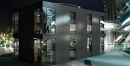 Projekty, minimalistyczne Domy zaprojektowane przez STELLINNOVATION GmbH