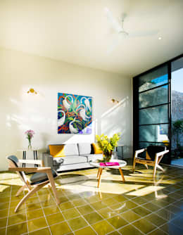 Taller Estilo Arquitectura: modern tarz Oturma Odası