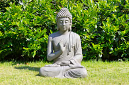 Boeddha Gerechtigheid: aziatische Tuin door Inspiring Minds