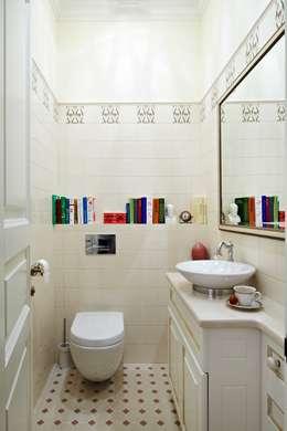Квартира на Остоженке: Ванные комнаты в . Автор – D'Seesion