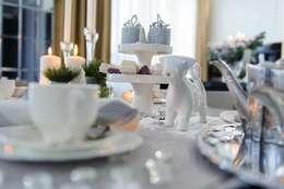 Comedor de estilo  por Angelika Moroz interior design