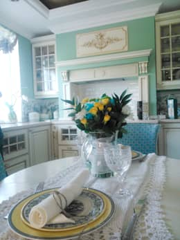 Angelika Moroz interior design : klasik tarz tarz Mutfak