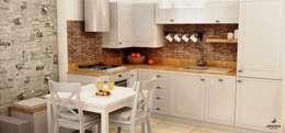 rustic Kitchen by Artenova Design