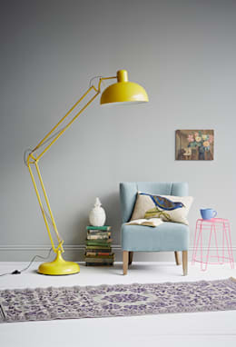eclectic Living room تنفيذ rigby & mac