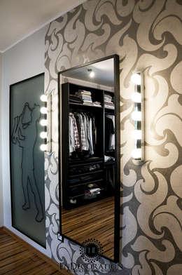 Dom pod Białymstokiem. : styl , w kategorii Garderoba zaprojektowany przez EnDecoration