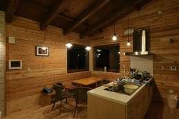 北欧風のキッチン: 一級建築士事務所 クレアシオン・アーキテクツが手掛けたキッチンです。